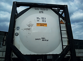 TANK konteineris 20′ foot TANK container